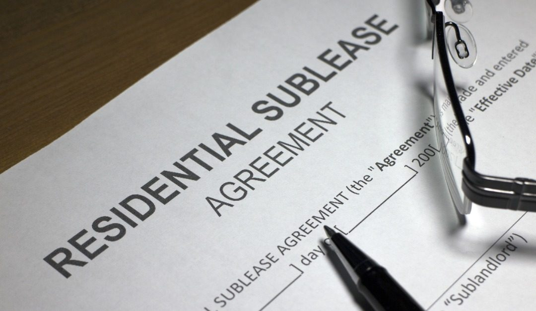What Is a Sublease?