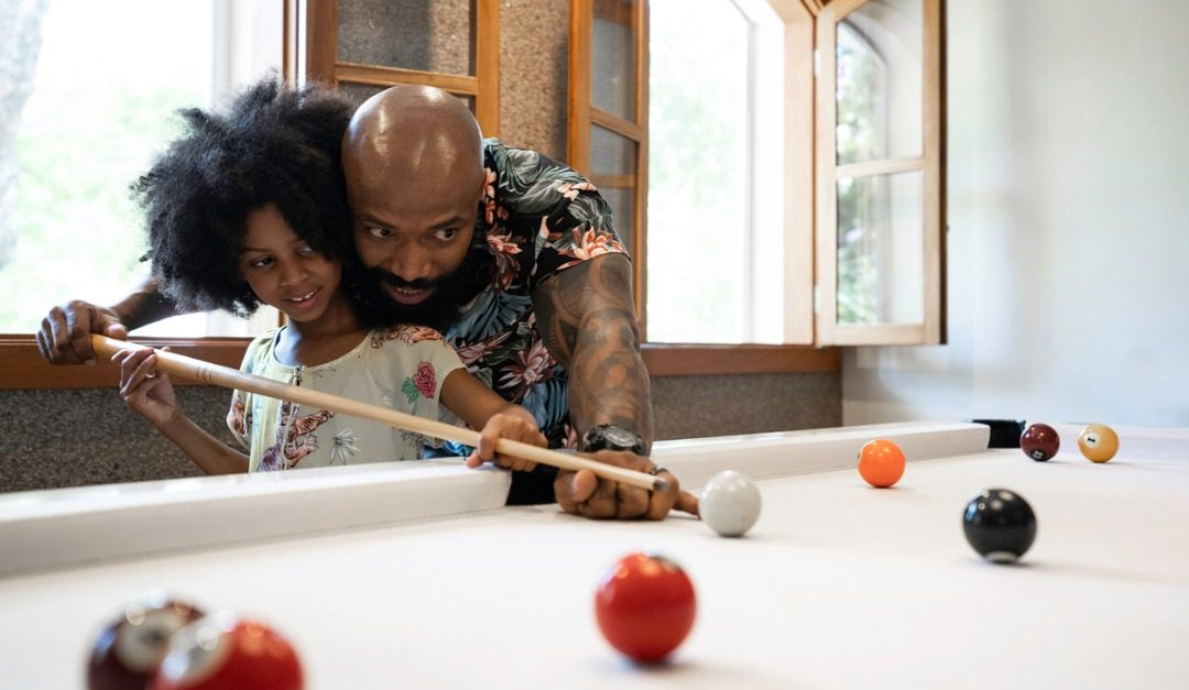 Cue Up Family Game Night With a Pool Table