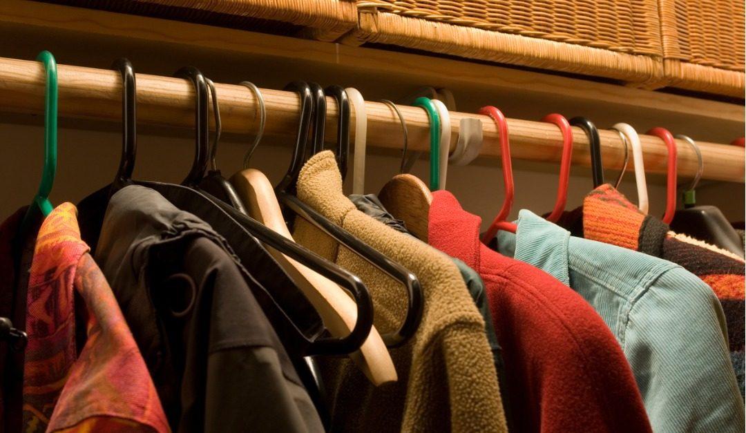 Don't Overstuff Your Coat Closet