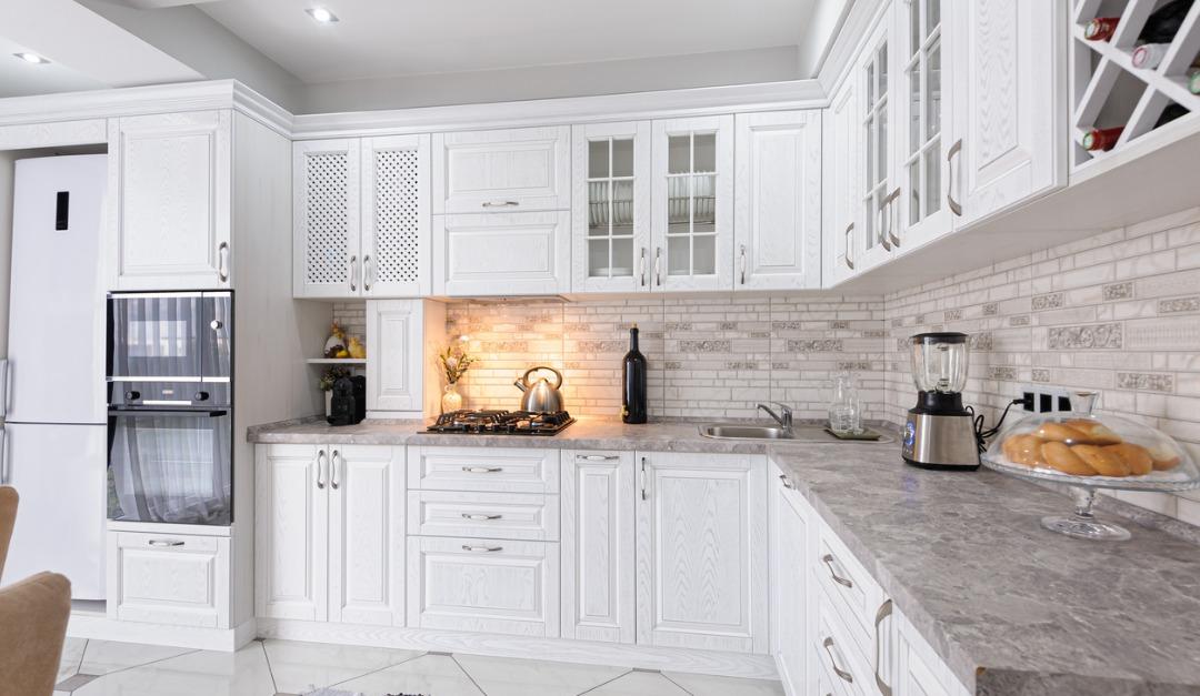 How to Design an Elegant White Kitchen