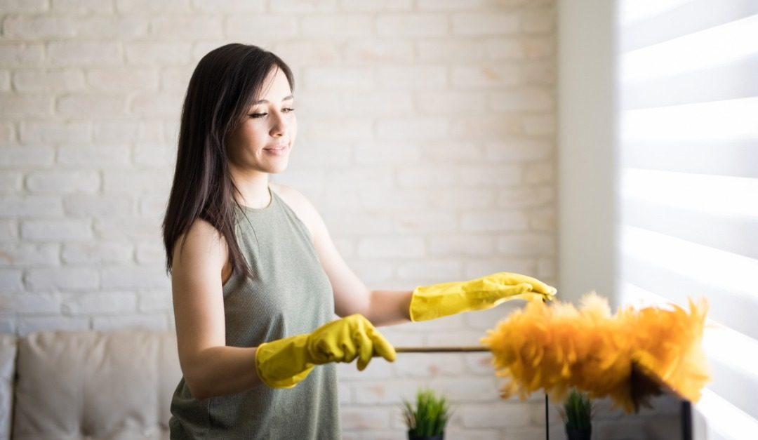 Staging a Home? Be Sure to Dust