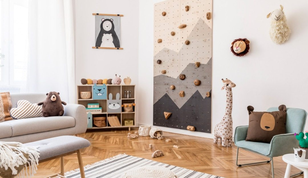 4 Exciting Features for Kids' Bedrooms