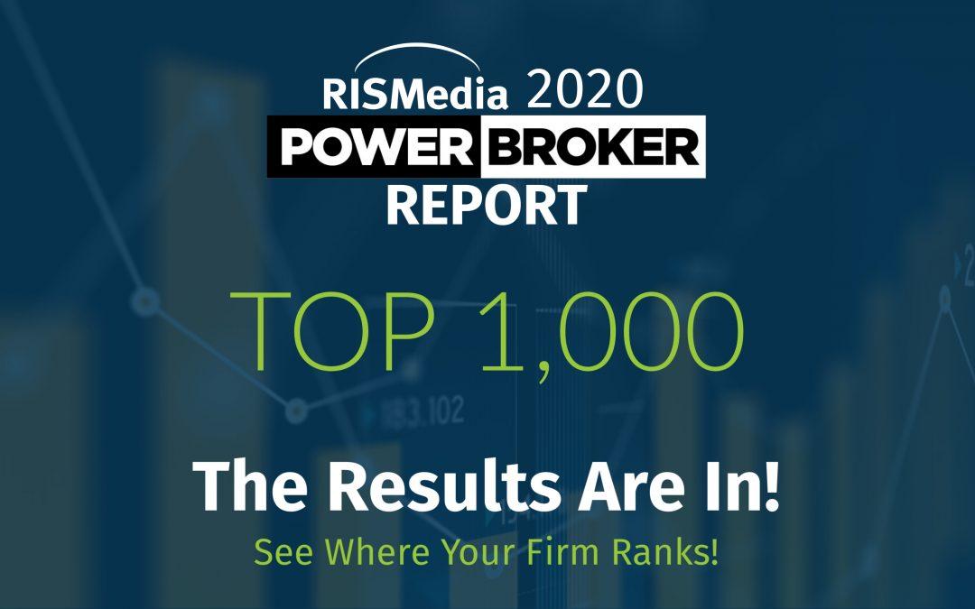 RISMedia Announces Power Broker Top 1,000
