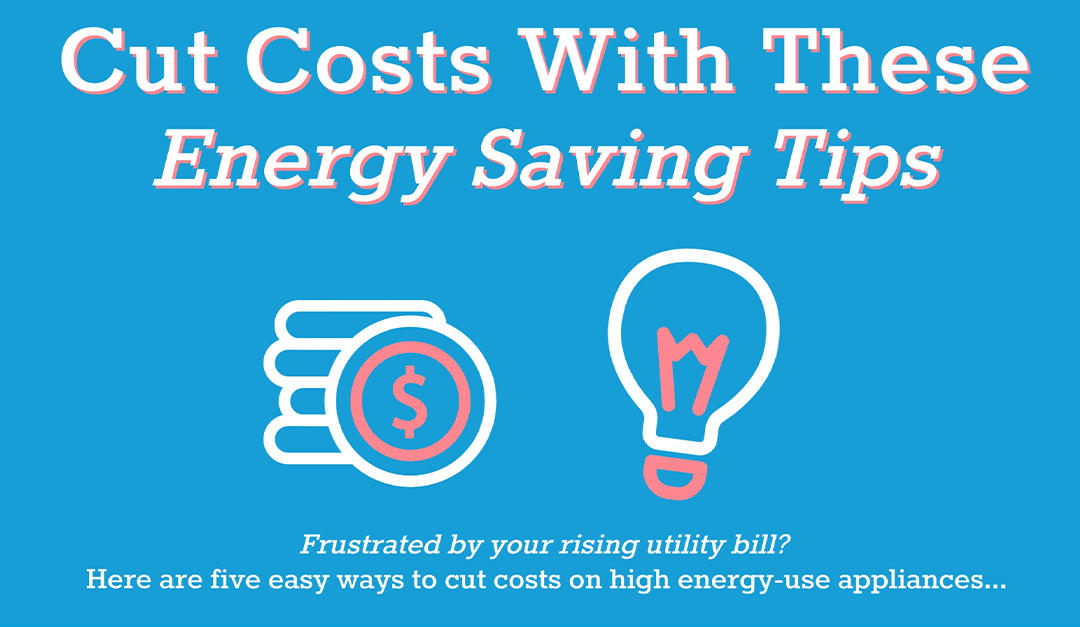 Cut Costs With These Energy Saving Tips