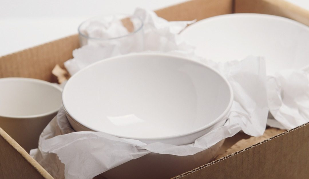 The Right Way to Pack Dishes and Glassware When Moving