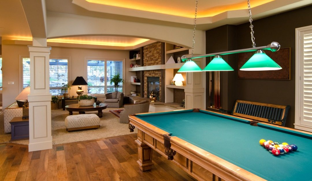 4 Tips for Designing a Classic Billiard Room
