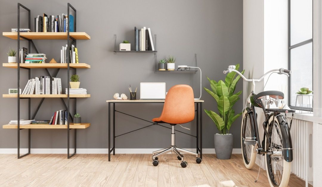 Create a Stylish Home Office in a Limited Space