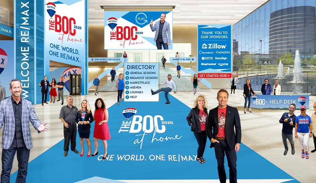 Thousands Attend RE/MAX 2020 Virtual Broker Owner Conference