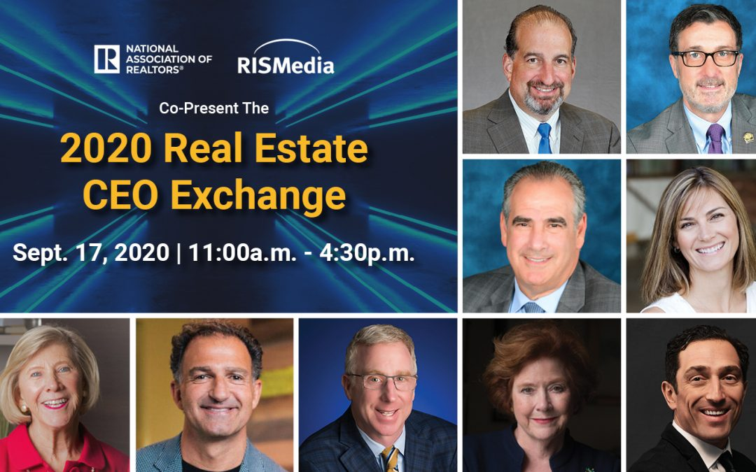 Co-Presenter NAR Pinpoints Industry Progress Against COVID Challenges at RISMedia's Virtual CEO Exchange