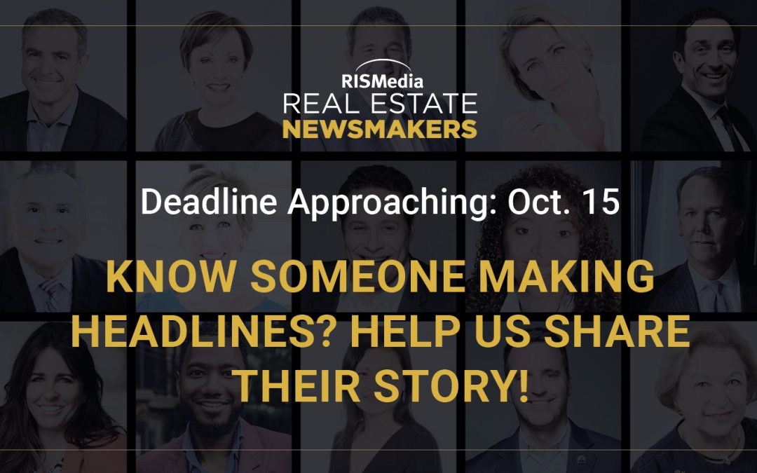 Don't Miss Your Chance: Newsmaker Nominations Close in October