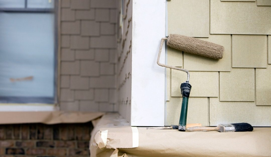 Repainting Your Home's Exterior and Interior Could Help It Sell Faster