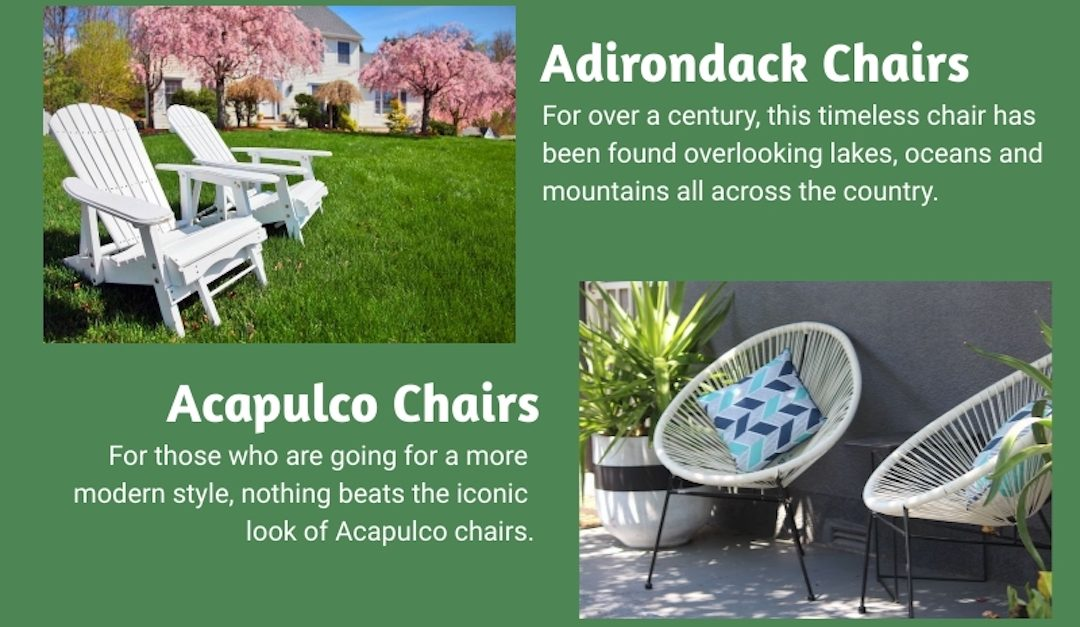 Classic Outdoor Chairs for Any Backyard