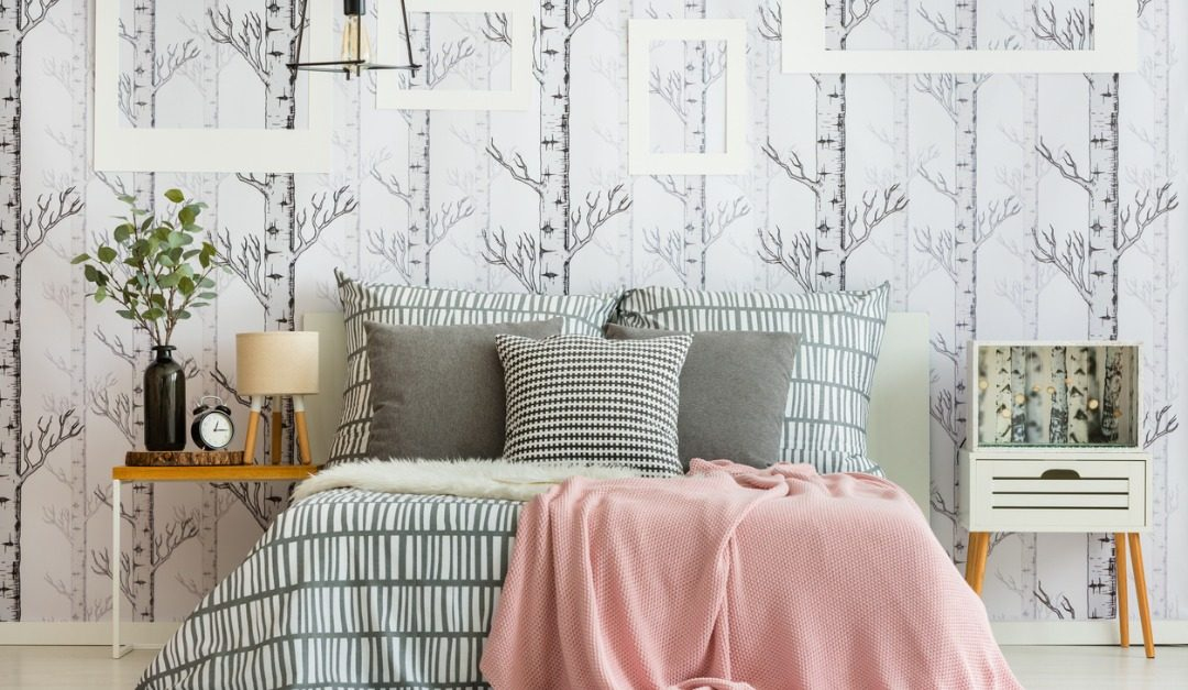 4 Spots in Your Home to Bring Back Wallpaper