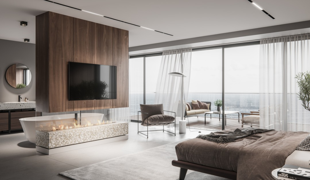 Luxurious Master Bedroom Interior Picture Id1266155645 Rismedia