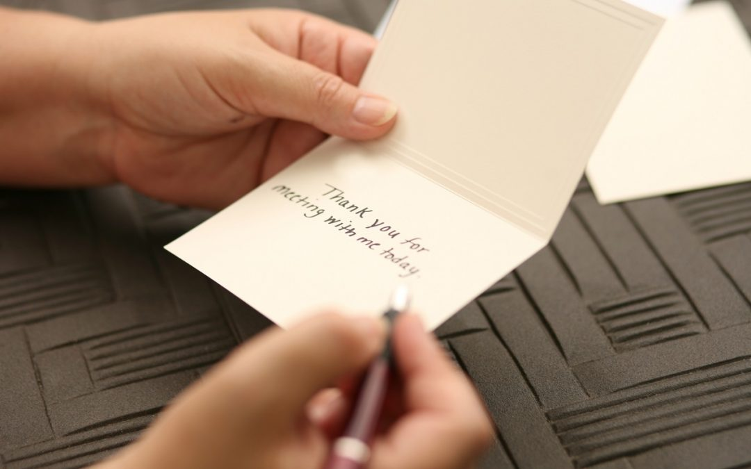 Write a Better Thank-You Note