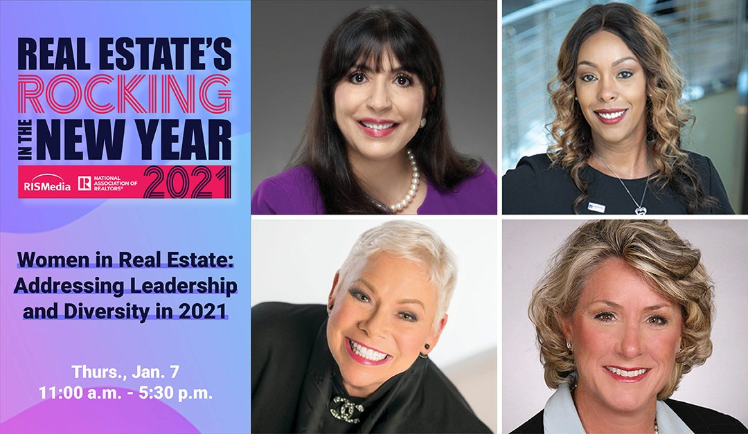 Experts to Dive Deep on Diversity and Women in Leadership at 'Real Estate's Rocking in the New Year' 2021