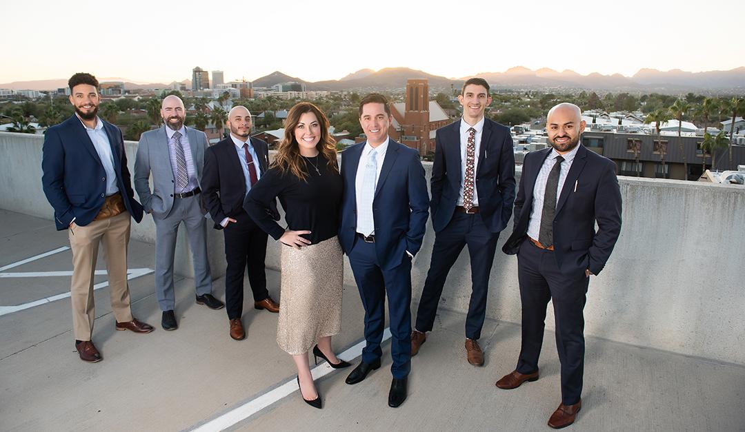 Wedding Bells Bolster Synergy for Growing Tucson Team