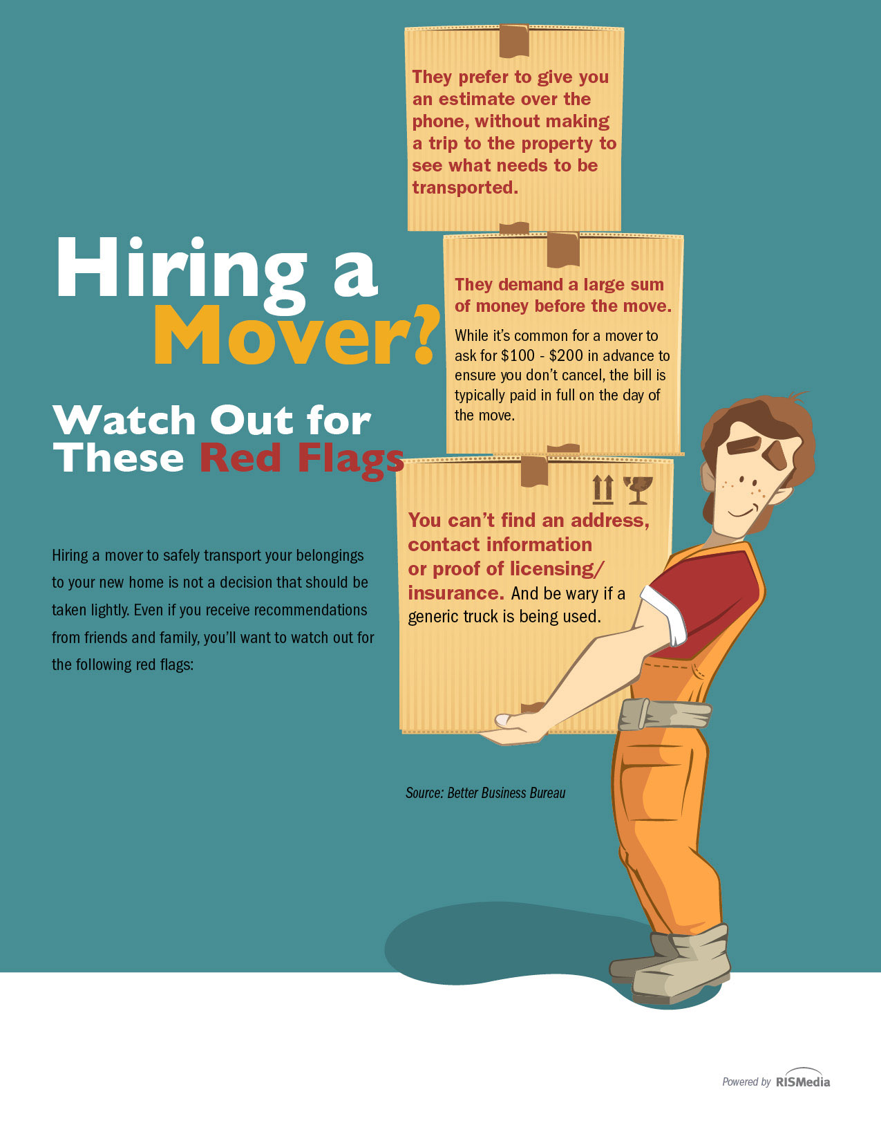 Hiring a Mover