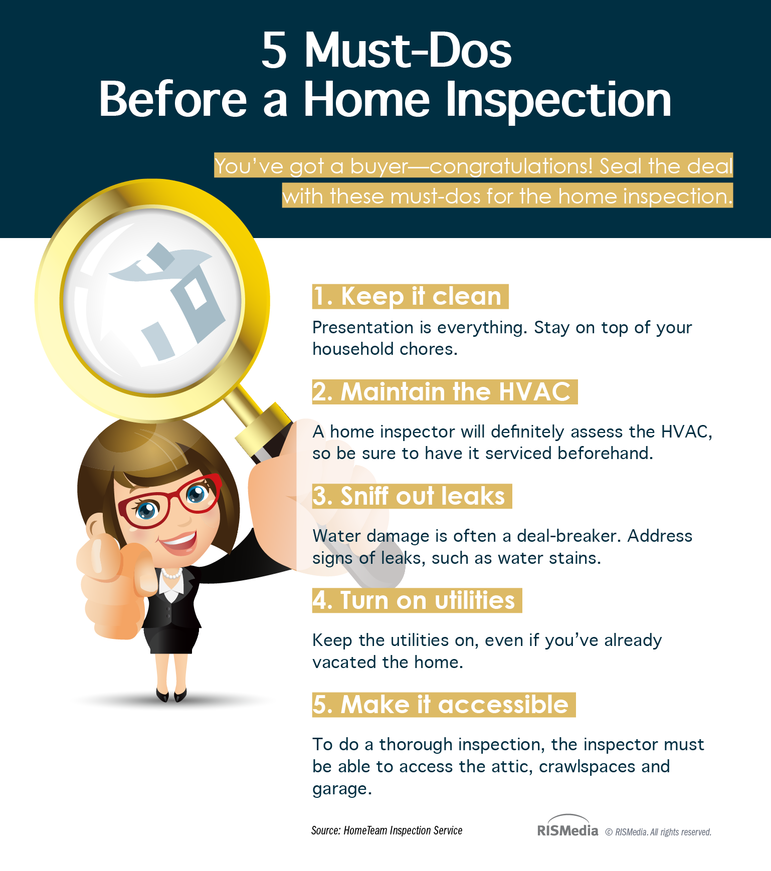 5 mustdos before a home inspection � rismedia